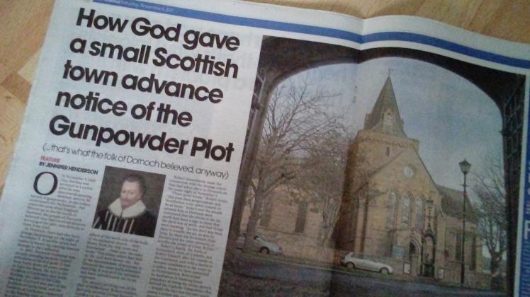 Dornoch & the Gunpowder plot article 2