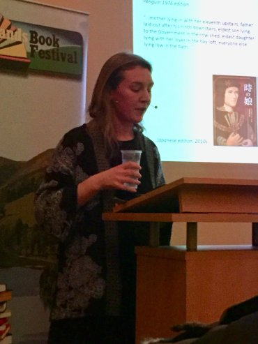 Jennifer Morag Henderson talks about Josephine Tey at the Pentlands Book Festival