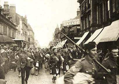Academy Street Inverness August 1914