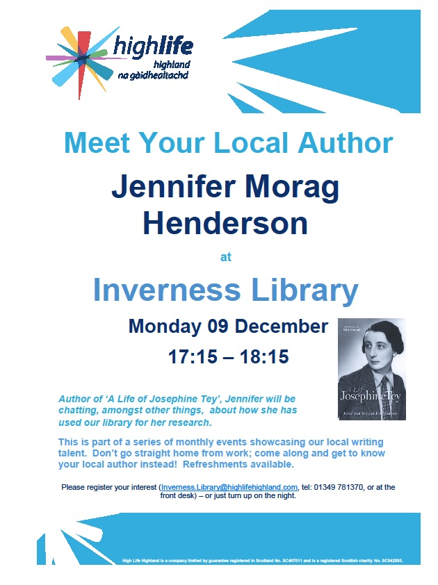 Inverness Library poster