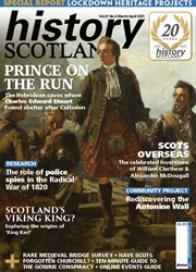 front cover of History Scotland magazine March/April 2021